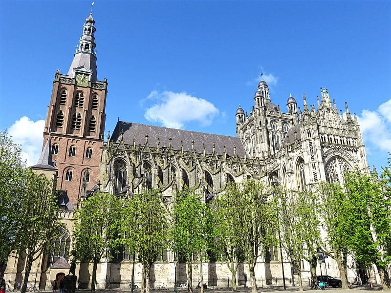 Saint John's Cathedral, Den Bosch, the Netherlands, Sint Jan, Sint Janskathedraal, Brabant, North Brabant, de Parade