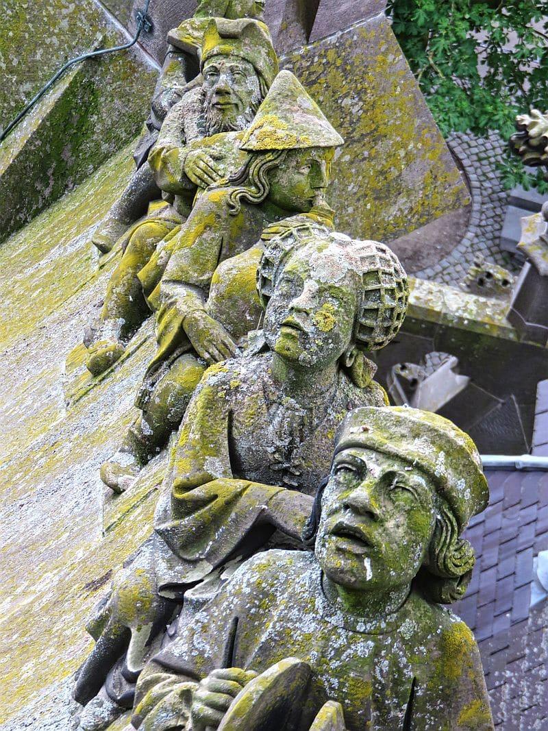Statues, Sint Jan, Den Bosch, St. John's Cathedral, Sint Janskathedraal, 's-Hertogenbosch, Brabant, North Brabant
