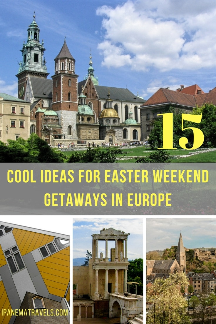 Easter destinations, off-the-beaten track Easter weekend getaways