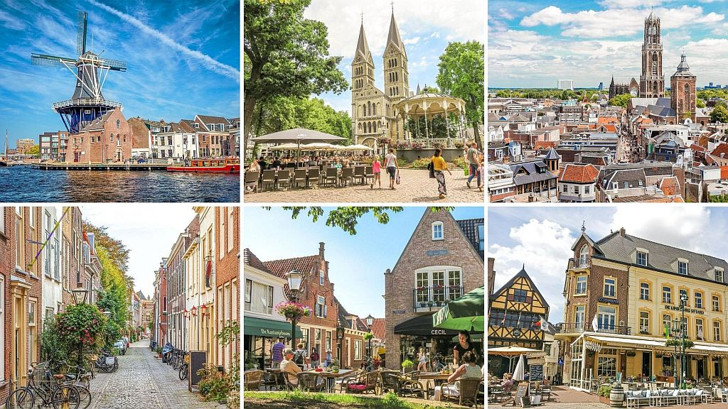 6 pictures of the best cities in the Netherlands