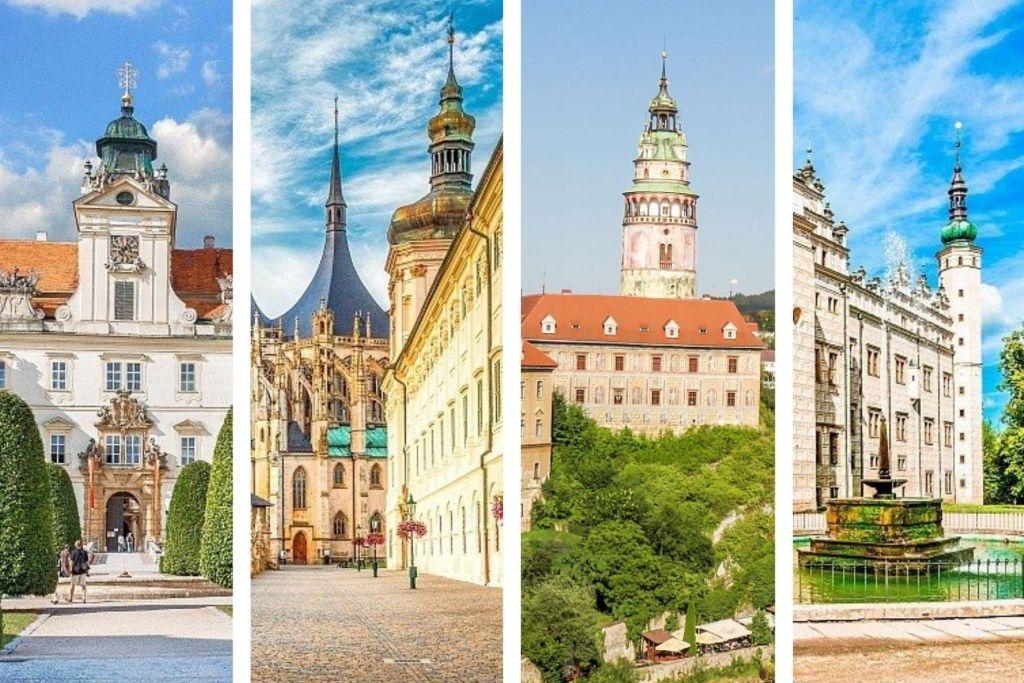 4 pictures of UNESCO sites in Czech Republic